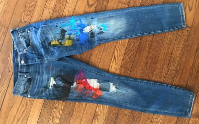 Painting on Jeans